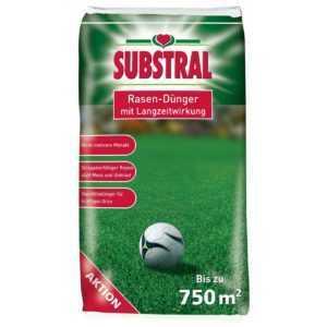 Substral Rasendünger mit Langzeitwirkung 15 kg für bis zu 750 qm