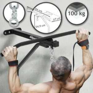 Boxsack Wandhalterung mit Klimmzugstange Krafttraining Heimtraining Fitnessgerät