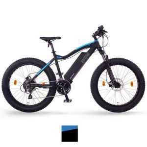 "NCM Aspen 26"" E-Bike Fatbike 48V 13Ah 624Wh, matt schwarz"