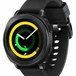 Samsung Gear Sport Hybrid Band 44.6mm Gehäuse Smartwatch Fitnesstracker Schwarz
