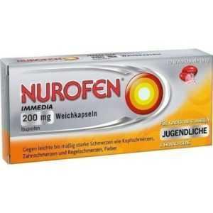 NUROFEN Immedia 200 mg Weichkapseln 10 St 00146519