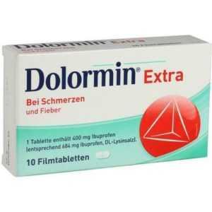 DOLORMIN extra Filmtabletten 10 St 00091072