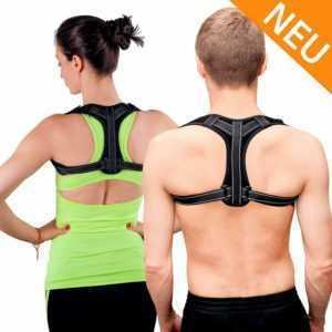 Sanufit Haltungskorrektur Rückenbandage Geradehalter Rückenstütze Damen Herren