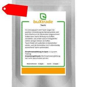 2 kg Taurin  Angebot Aminosäure Sport Nutrition - Fitness - Taurine