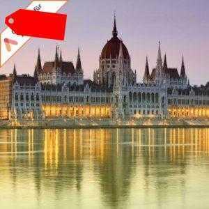Kurzurlaub Budapest 4 Tage im Hotel Park Inn by Radisson 2 Personen mit 1 Dinner