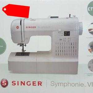 Singer Symphonie VI 6 Elektronik Freiarm Nähmaschine 40 Programme