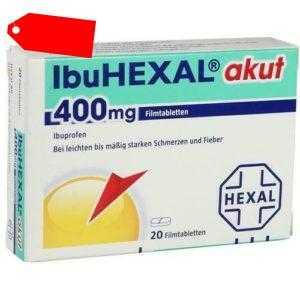 IBUHEXAL akut 400 Filmtabletten 20 St 00068972
