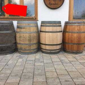 Regentonne Holzfass Wasserfass Regenfaß Gartenfaß gebrauchtes Weinfaß 225 L Faß
