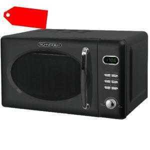 SCHNEIDER Mikrowelle Microwelle Mikrowellenherd MW720 B schwarz...