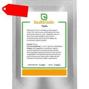 1 kg   Taurin   Pulver   Aminosäure Sport   Nutrition