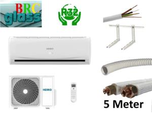HEIKO Split 3,5 kW  A++ Klimaanlage R32 Split Klimaanlage + Monta; EEK A++