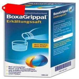 BOXAGRIPPAL Erkältungssaft 180 ml PZN 12871651