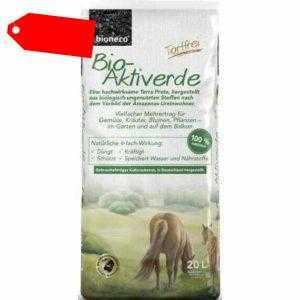 bionero Bio Blumenerde  Hochbeeterde 20 L Aktiverde Kräuter- Gemüseerde Torffrei