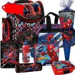 Spiderman Marvel Spinne Schulranzen Tornister Ranzen Set Schultüte Sporttasche