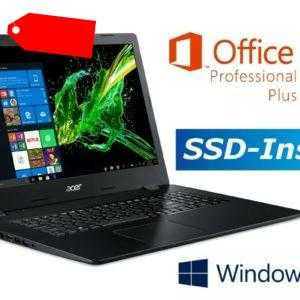 """NOTEBOOK ACER A317 - BIS 2000GB SSD - 17.3"""" FULL HD - WINDOWS 10 PRO - OFFICE"""