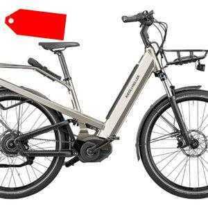 Riese & Müller E-Bike Culture GT vario 500 Wh Damen silber 2020