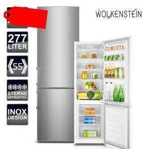 Kühlschrank A+++  Wolkenstein KGK 280 A+++ Kühl-Gefrierkombination...