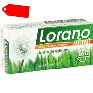 LORANO akut Tabletten 50 St 07222904