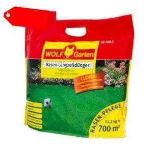 WOLF GARTEN Rasen Langzeitdünger LD 700 A | 11.2kg | für 700m²