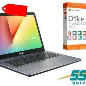 "NOTEBOOK ASUS F705MA - SSD - 17.3"" HD MATT - WINDOWS 10 PRO + OFFICE 2016 PRO"