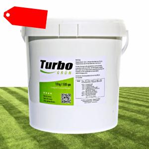 500m² Turbogrün Rasendünger Langzeitdünger, Volldünger, Moosverdränger 10kg