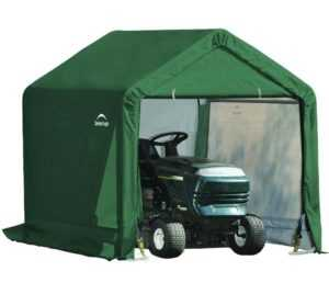 Foliengerätehaus Garage in-a-box 3,24m² Grün Mobil Unterstand ShelterLogic