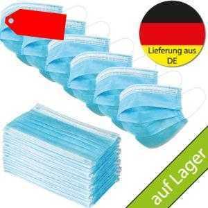 5 Stück Einwegmasken, Mund-Nasen-Maske Mund, Deutscher Händler, Versand aus DE