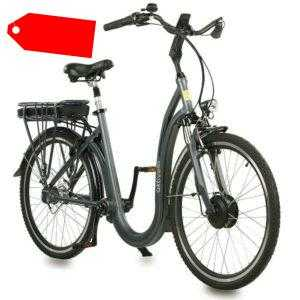 Alu-Elektro-Tiefeinsteiger-Rad inkl. Akku E-Bike Pedelec 26 Zoll 7 Gang Shimano