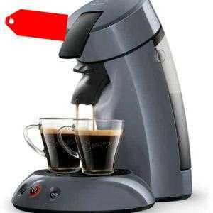 Philips Senseo Kaffeepadmaschine HD7806/50 Hellblau; EEK A