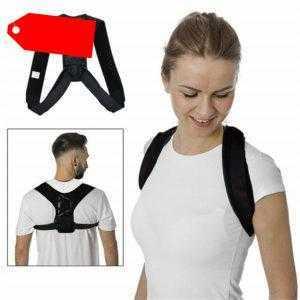 Rückenbandage Haltungskorrektur Stabilisator Rückenorthese Schulter Geradehalter
