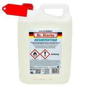 5 Liter Desinfektionsmittel Flächendesinfektion Schnelldesinfektion