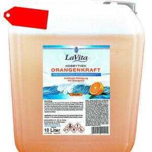 (8 EUR/l) Orangenkraft-Reinigungskonzentrat 10 Liter