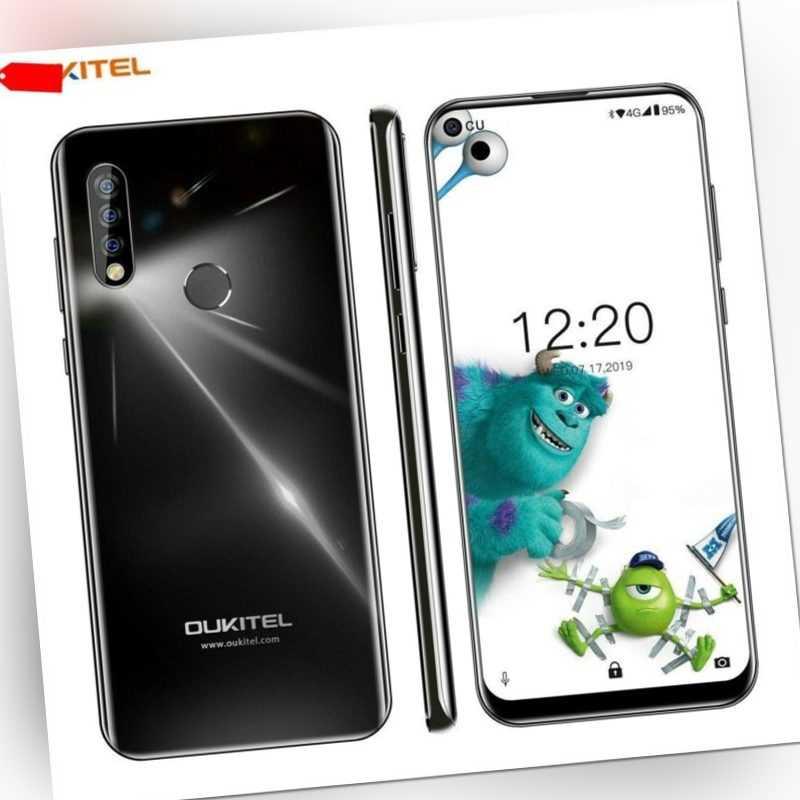OUKITEL C17 Pro 4G Smartphone 4GB RAM 64GB Handy Android 9.0 Face ID Fingerprint