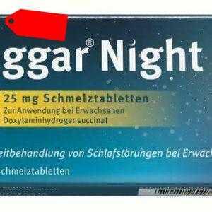 Hoggar Night 25 mg Schmelztabletten 20 St PZN: 14144168