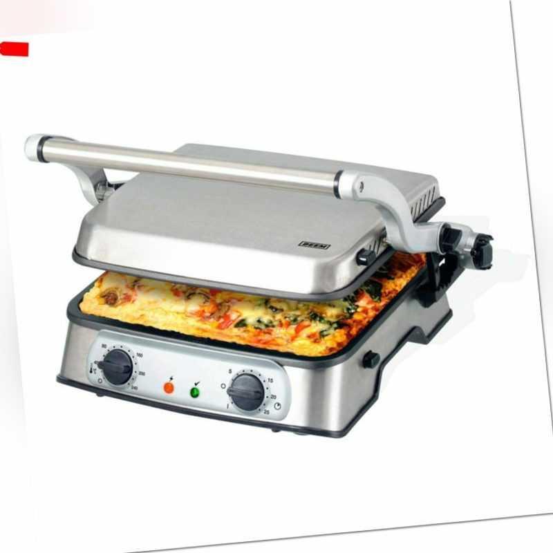 BEEM Germany Pro Multigrill 3in1 Kontaktgrill und Sandwich –...