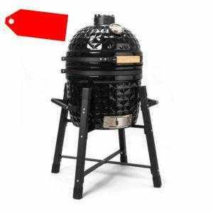 SALITOS BBQ Keramikgrill Klassik 15 Zoll Kamado-Grill Holzkohle Ofen Smoker