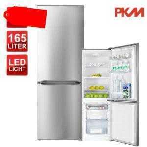 Kühlschrank Kühl-Gefrierkombination A++ PKM KGK178.4A++IX 178...