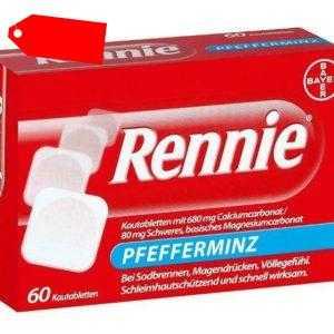 Rennie Kautabletten 60 St