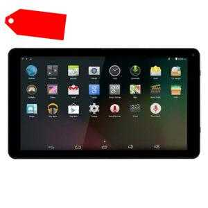 """DENVER® 10,1"""" Zoll Tablet 1,2 Ghz Quadcore PC WiFi Android 2MPX Frontkamera WLAN"""