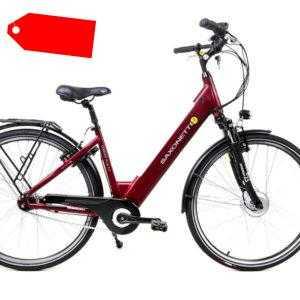 28 Zoll Saxonette Comfort Plus 2.0 Elektro E-Bike Pedelec bordeaux 417,6W B-Ware