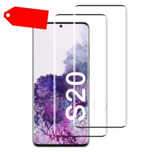 2x Samsung Galaxy S20 Panzerfolie Schutzfolie Displayfolie Hart-Glas Full-Screen