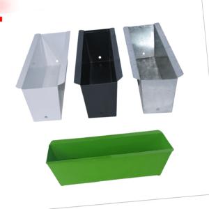 Set Blumenkästen Pflanzkasten Balkonkasten Metall Einsatz für Europalette