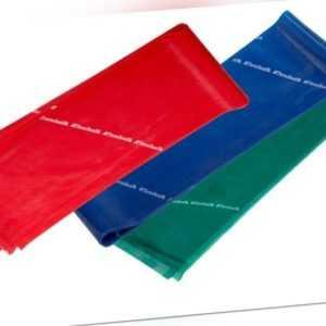 THERA-BAND ® 2,5 m - Set rot - grün - blau Original Theraband von der Rolle