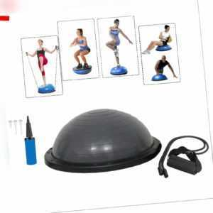 Yoga Gymnastik Ball Balancetrainer Trainingsball Balance Ball Fitnessball grau