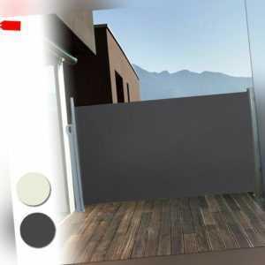 Seitenmarkise Windschutz Sichtschutz Sonnenschutz Markise Camping Terrasse Alu