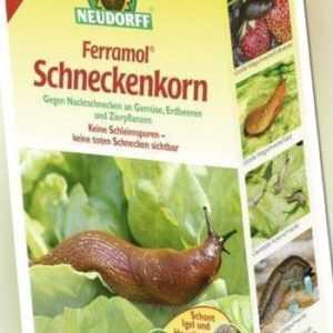 (6,78€/1kg) Neudorff Schneckenkorn 2 kg Ferramol Schnecken Gemüse Schneckenbekäm