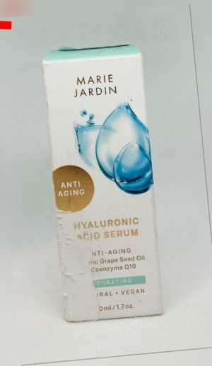 Marie Jardin Hyaluron Serum Mit Q10 & Vitamin C Anti Aging, 50ml