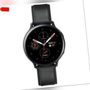 Samsung Galaxy Watch Active 2 44mm Smartwatch Stainless Steel schwarz Fitness