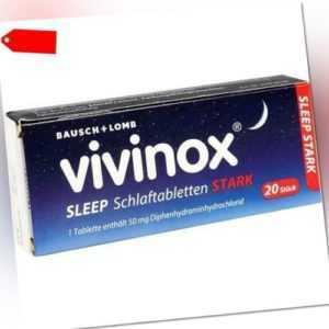 VIVINOX Sleep Schlaftabletten stark 20 St 02083906