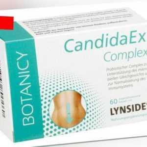 CandidaEx Complex mit Lynside, 60 Kapseln - bei Pilzinfektion Intim